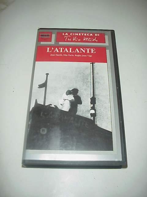 L'ATALANTE film vhs videocassetta originale Jean Vigo Kezich