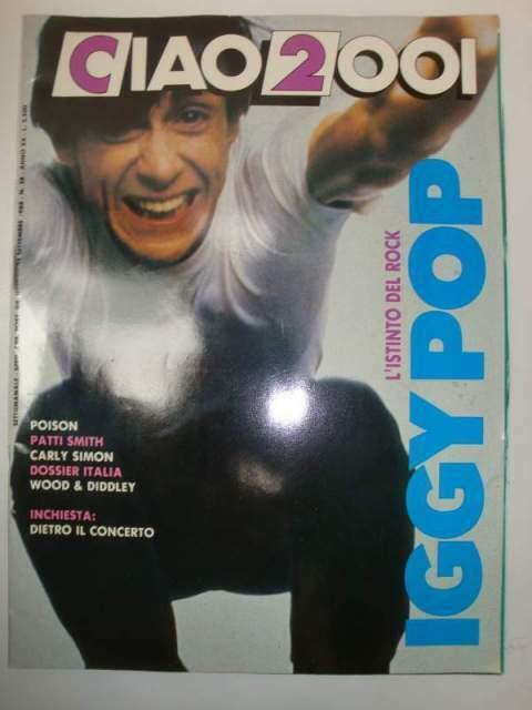 Musica Rivista CIAO  Anno  n.38 Iggy Pop Rock