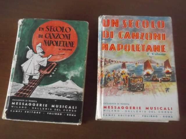 Un secolo di canzoni napoletane, voll. 1 e 2