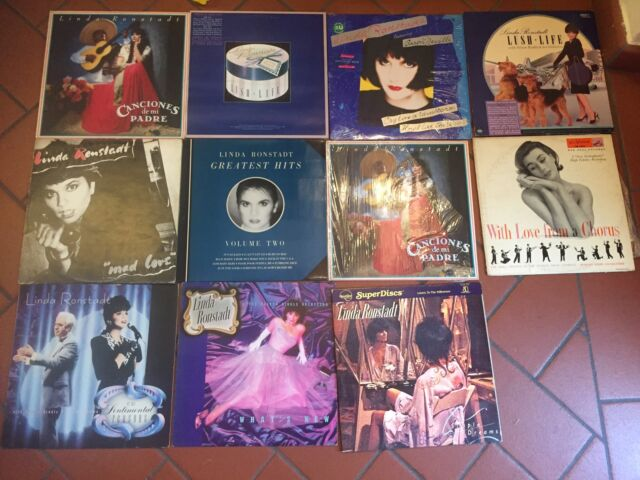 33 giri lp vinile linda ronsted 11 dischi perfette