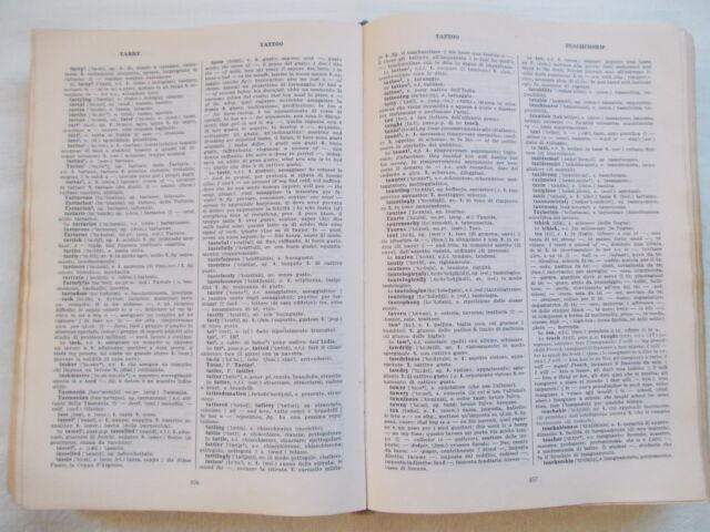 Dizionario vocabolario inglese Hazon Garzanti grande