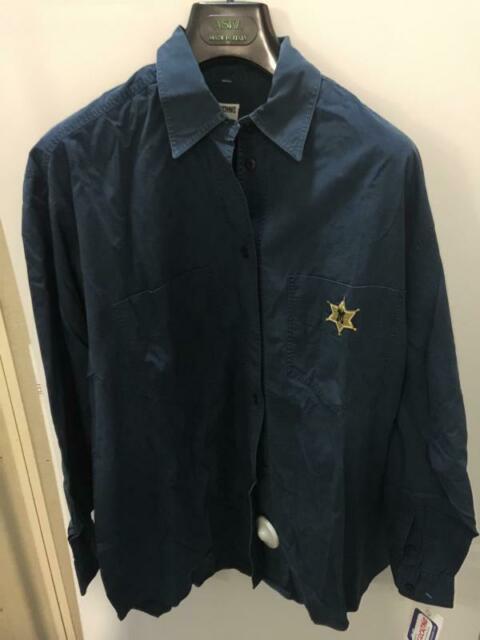 Camicia donna moschino blu vintage