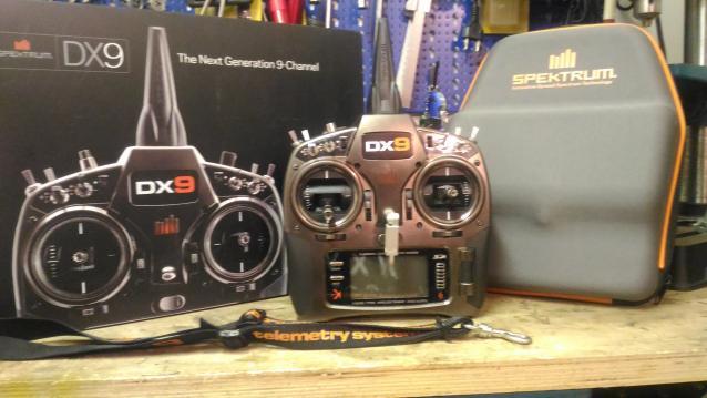 Radio SPEKTRUM DX9