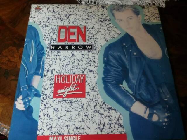 DEN HARROW maxi single Holiday night  Raro!
