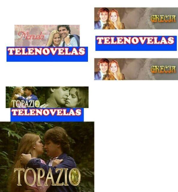 Promozione, 3 Telenovelas, Manuela Topazio e Grecia