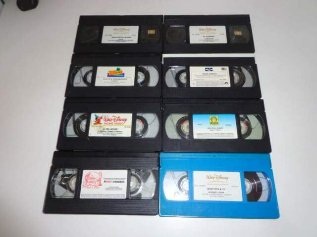 Video casette (VHS) Cartoni/Film Disney e non