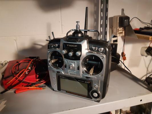 trasmettitore futaba T10