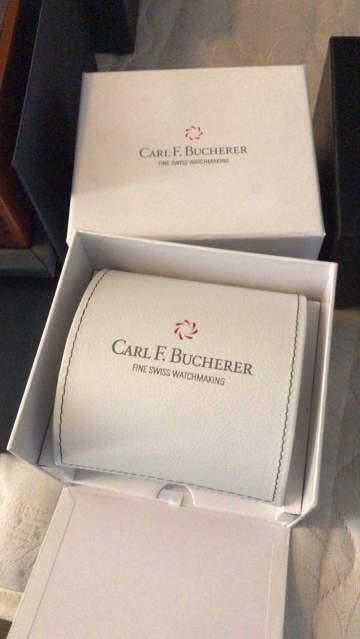 Carl F. Bucherer scatola originale per orologi perfetta