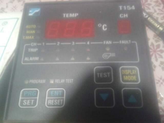 Centralina di termocontrollo per PT100