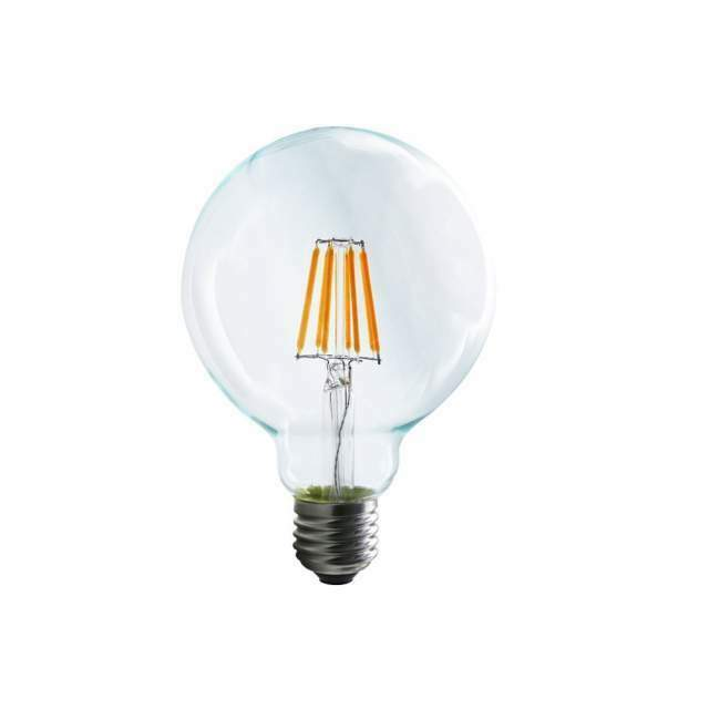 N. 5 lampadine led, attacco E27, 8W  K, 650 lumen