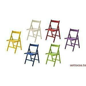 4 sedie birreria lusso in legno di faggio vari colori