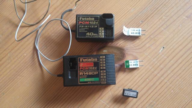 Riceventi Futaba 40 Mhz