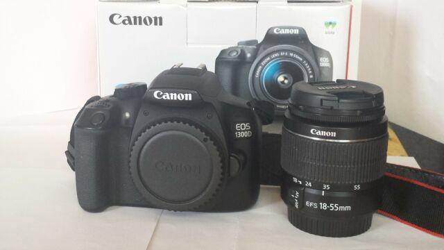Canon Eos D +EF-S  DC III - PARI AL NUOVO!