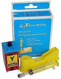 Kit di ricarica per cartucce HP 364XL yellow Nuovo