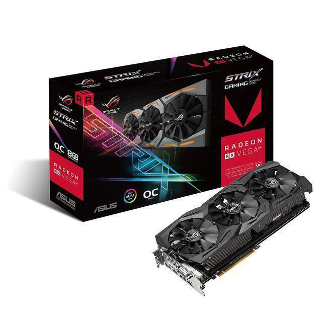 Scheda video ASUS ROG Strix Vega RX 64 OC 8 gb