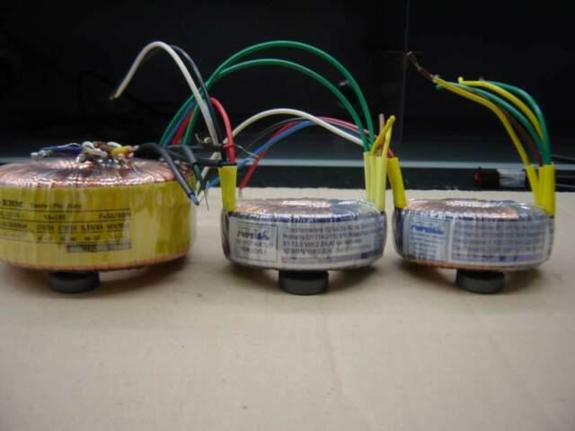 Trasformatori toroidali vari modelli