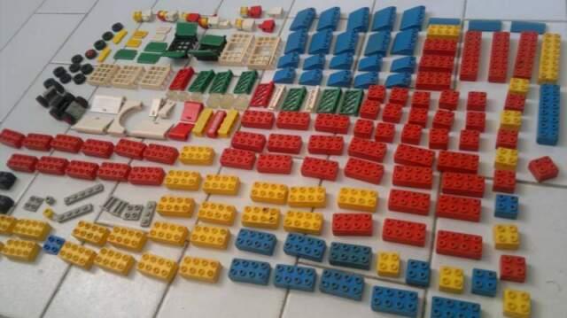 Giocattoli LEGO LEGNO costruzioni anni 70