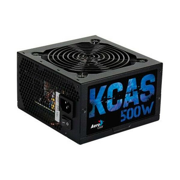 Fonte di alimentazione aerocool kcas500s atx 500w 80 plus
