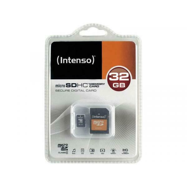 Intenso  memoria flash 32 gb microsdhc classe 4