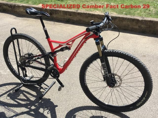 MOUNTAIN BIKE IN CARBONIO SPECIALIZED