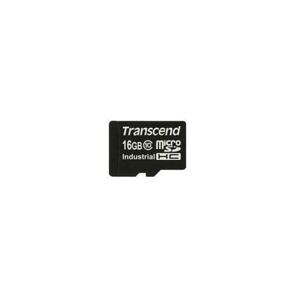 Transcend ts16gusdc10i memoria flash 16 gb microsdhc classe