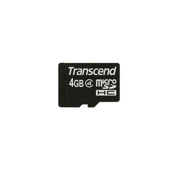 Transcend ts4gusdc4 memoria flash 4 gb microsdhc