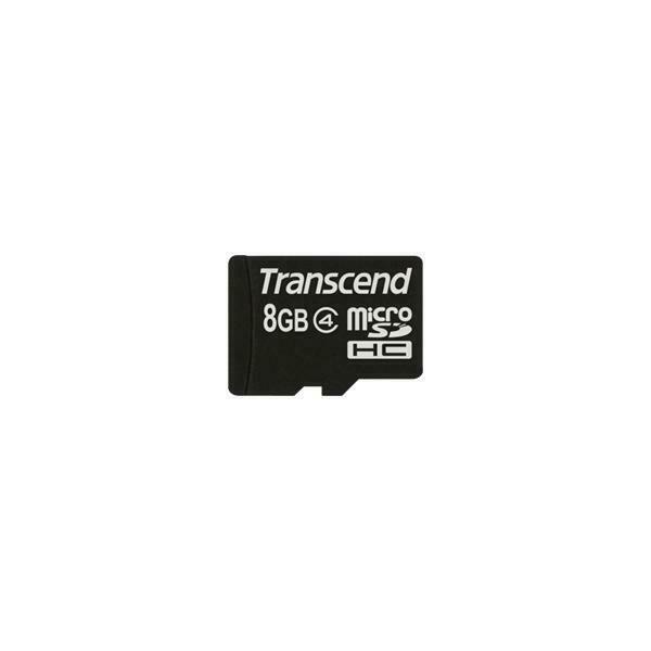 Transcend ts8gusdc4 memoria flash 8 gb microsdhc classe 4