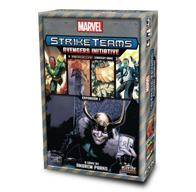 Gw jm marvel heroclix board game expansion pack