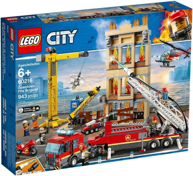 Gw jm lego  - city - missione antincendio in