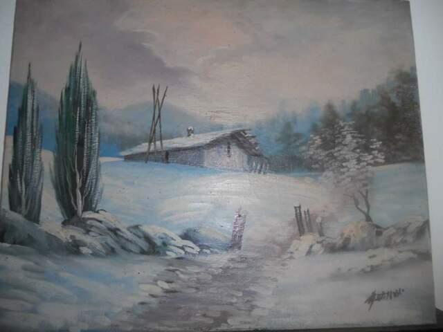 Dipinto a olio su tela