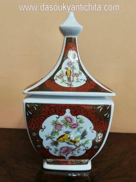 Tris di vasi Potiche cinesi del XX secolo
