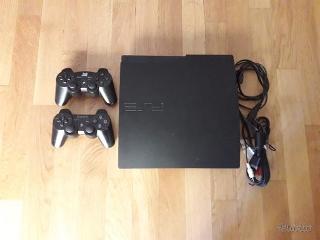 Ps3slim +2 controller+8 giochi