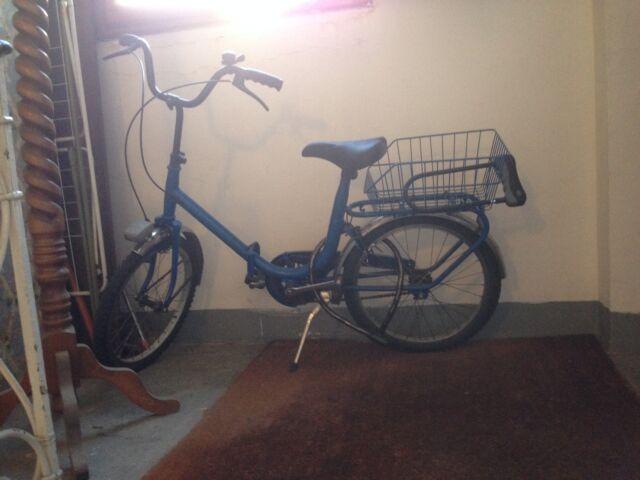 Vendo bici pieghevole