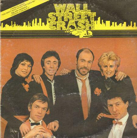 Disco 33 giri Wall Street Crash originale