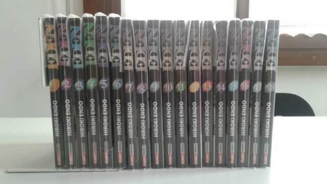 EDEN serie completa 1/18 Hiroki Endo 1° edizione Planet