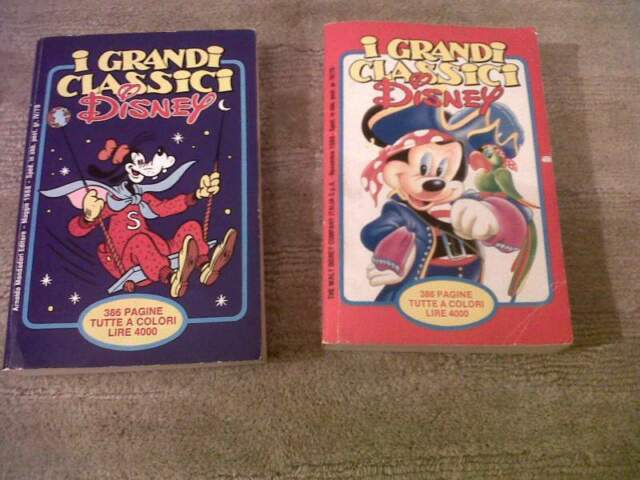 I Grandi Classici Disney, n. 33 e n. 36, anno