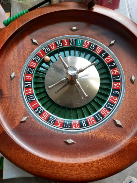 Roulette in legno 36 cm Dal Negro