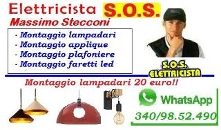 Installazione lampadario ostiense portuense roma