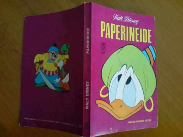 Classici Walt Disney n.20 prima serie - Paperineide