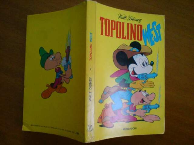 Classici Walt Disney n.36 prima serie - Topolino West
