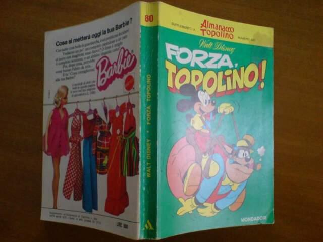 Classici Walt Disney n.60 prima serie - Forza, Topolino!