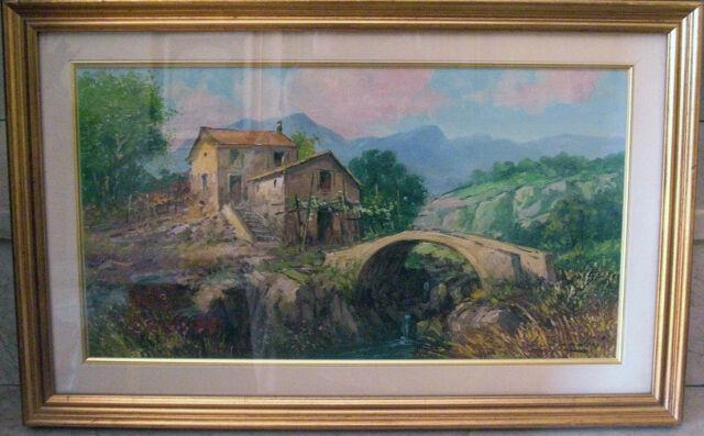 2 dipinti a olio