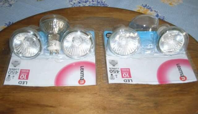 N.5 FARETTI LED Classe A Luce calda
