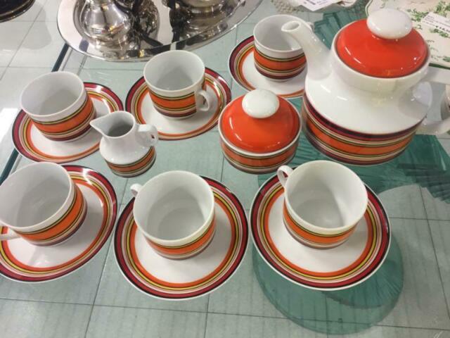 Servizio tazze da caffÈ da 6 anni '70