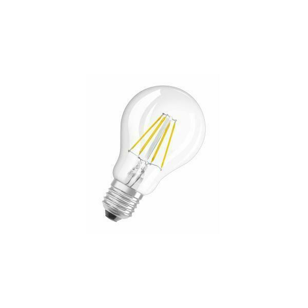 Osram led retrofit classic a lampada led bianco caldo 4 w