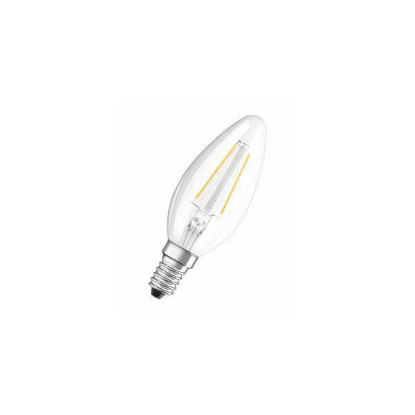 Osram led retrofit classic b lampada led bianco caldo 2 w
