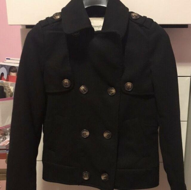 Cappottino nero tg S