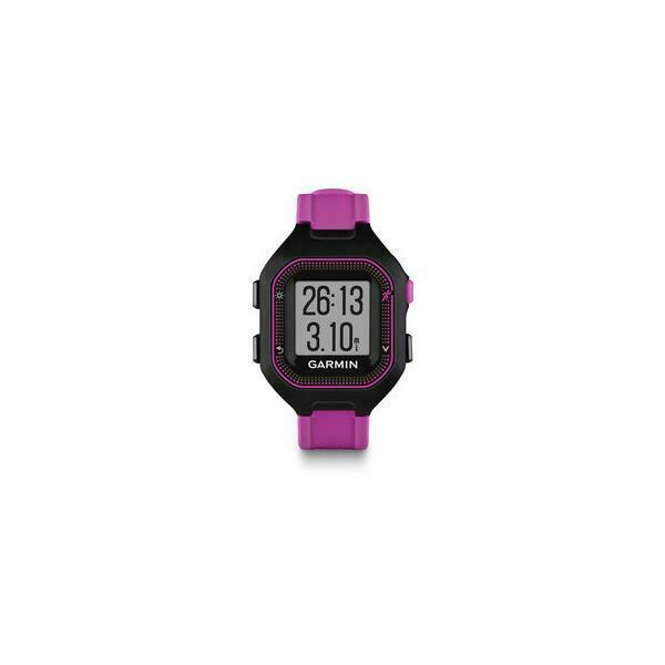 Garmin forerunner 25 orologio sportivo nero, viola 128 x 128