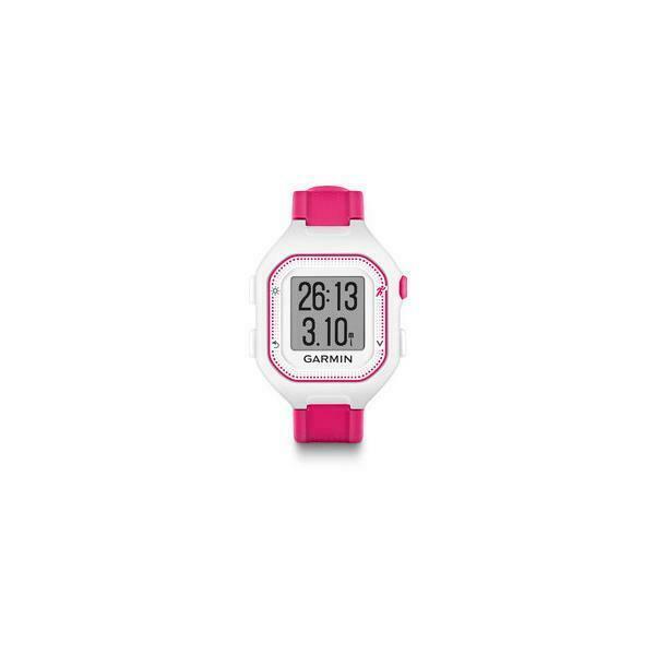 Garmin forerunner 25 orologio sportivo rosa, bianco 128 x
