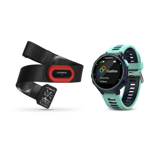 Garmin forerunner 735xt nero, blu orologio sportivo